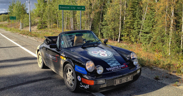 964 Carrera 2 en Dawson City
