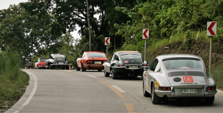 Classic traffic jam in Philippines