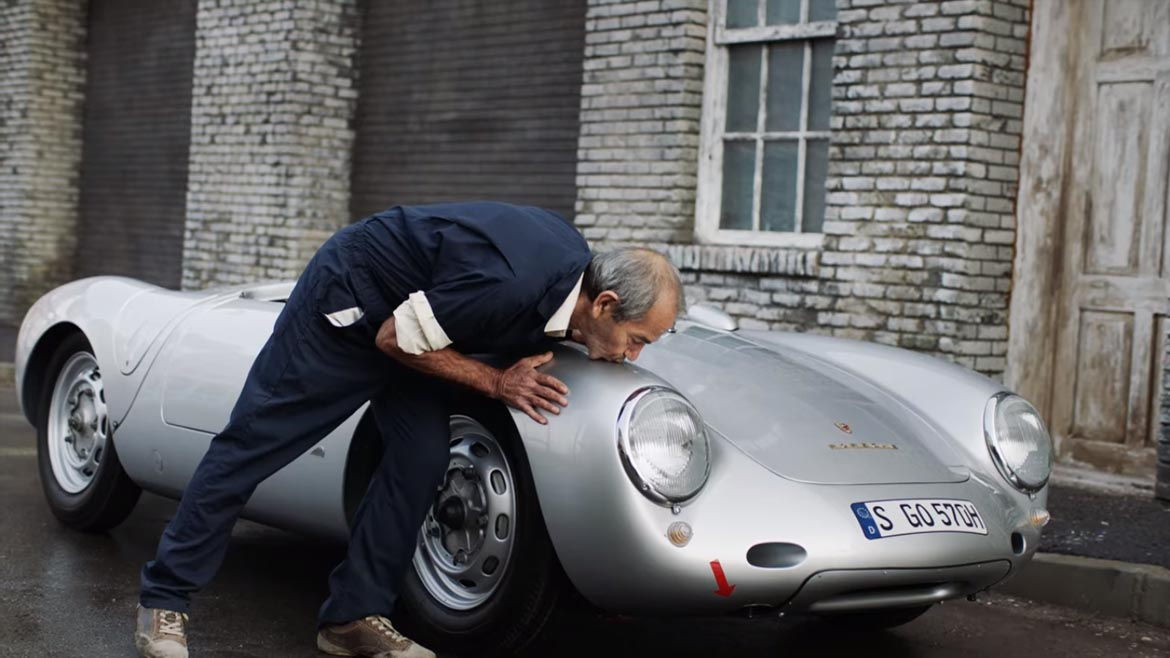 Vídeo Porsche 550 RS Spyder