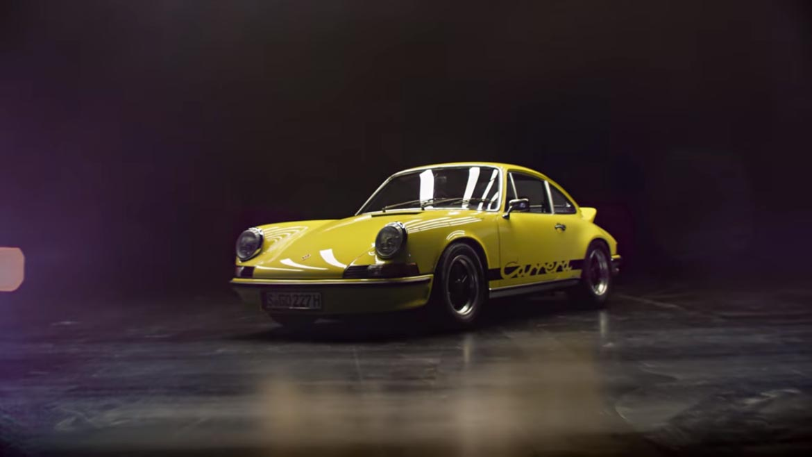 Vídeo Porsche 911 Carrera 2.7 RS