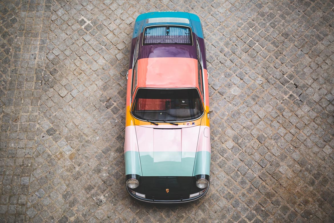 Porsche 911 by Paul Smith Artist Stripe