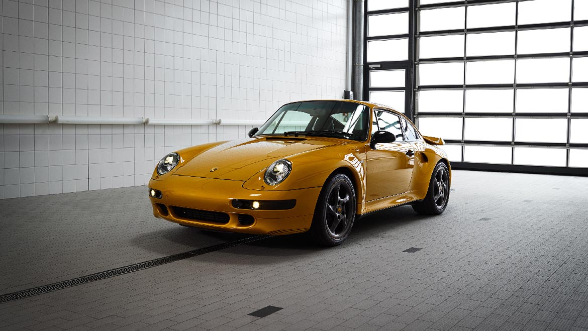Porsche 911 993 Turbo Project Gold