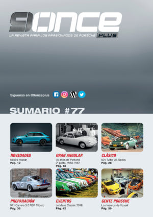9ONCE Plus nº 77, sumario 1