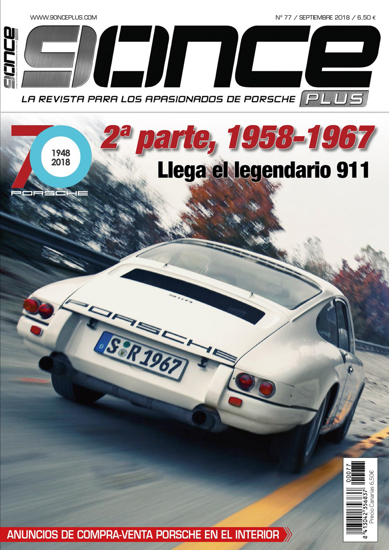 Portada 9ONCE Plus nº 77