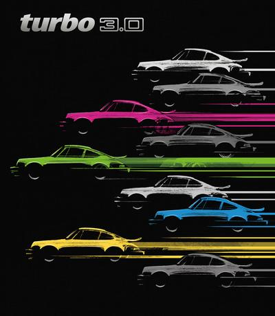 Porsche 930 Turbo 3.0 Book Portada