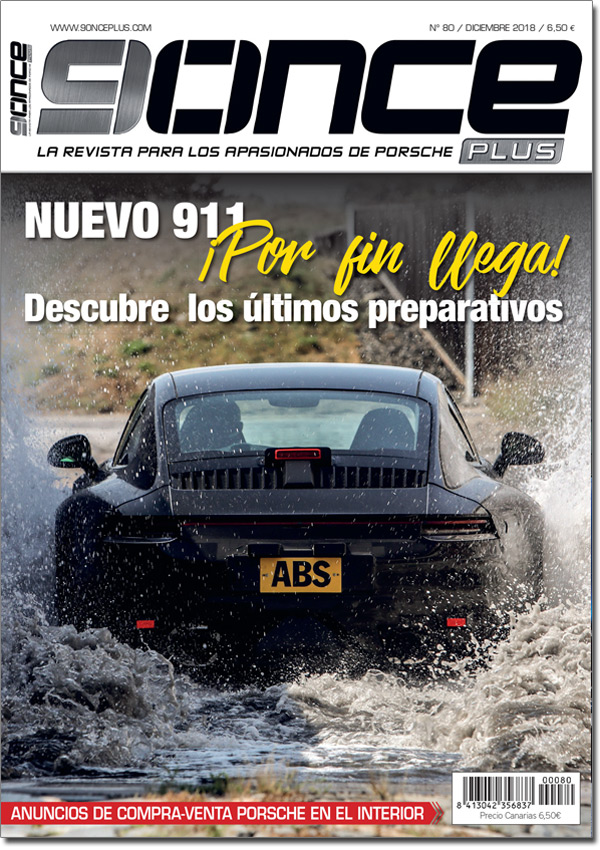 Portada 9ONCE Plus nº 80